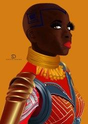 Wakanda Warrior Okoye-01 - kopie